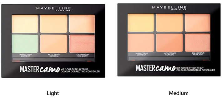 Maybelline Master Camo Color Correcting Palette