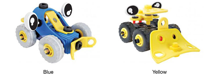 Build & Play Construction Trucks