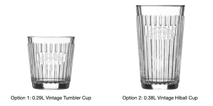 Vintage kilner Cups