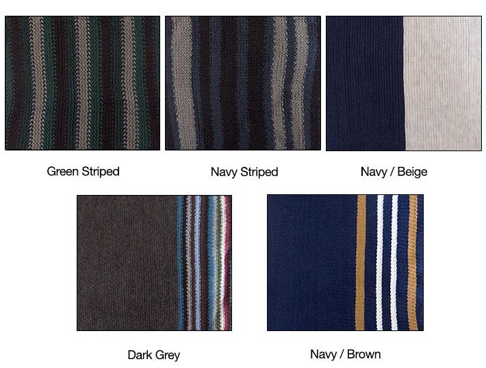 Striped Men's Scarf