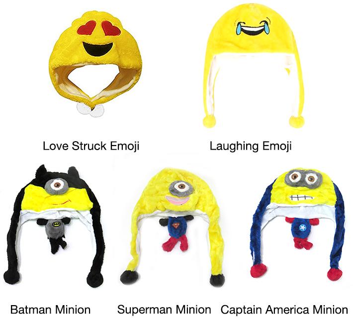 Kids Emoji / Minions Beanie