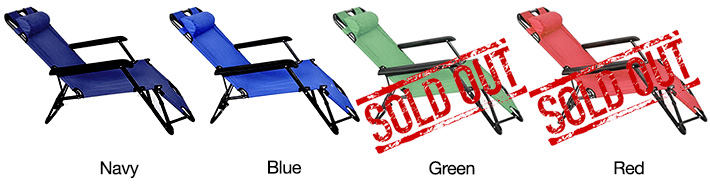 Foldable Outdoor Chair with Footrest