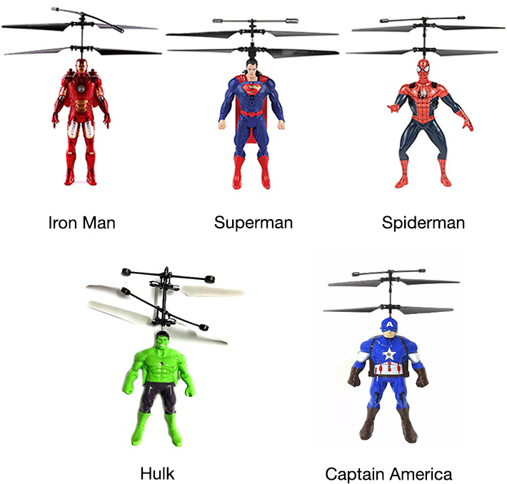 Avengers Flying Hero Kids Toy