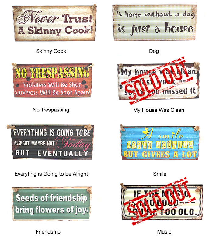 Quotes Metal Posters