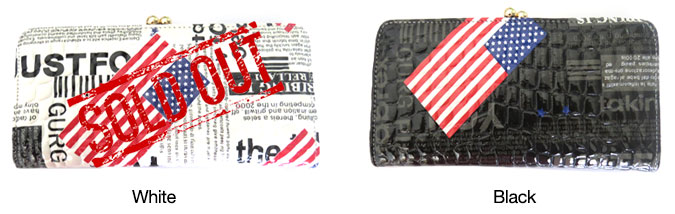 Glossy Newspaper Wallets