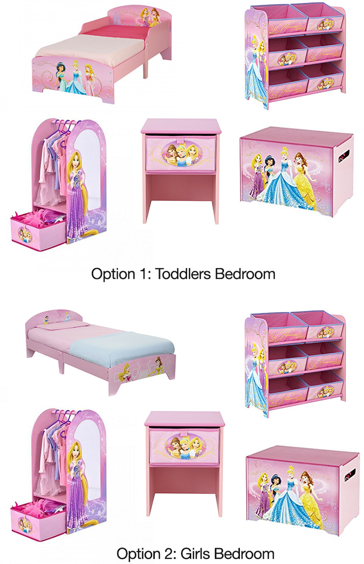 Disney Princess Toddlers / Girls Bedroom