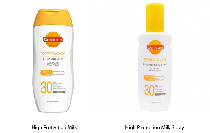Carroten High Protection Milk SPF30