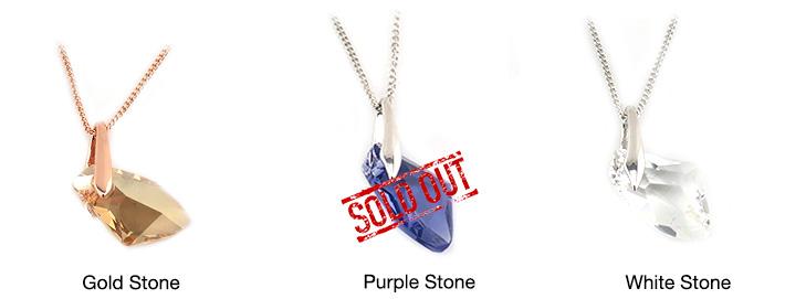 Swarovski Elements Crystal Stones Necklace