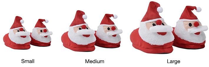 Plush Santa Claus Slippers