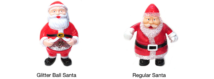LED Santa Christmas Tree Gadget