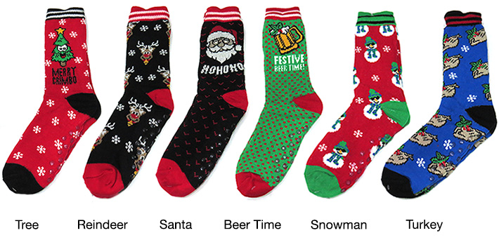 Unisex Christmas Winter Socks