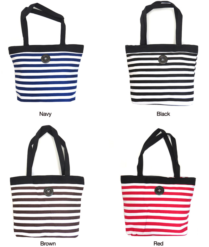All-Purpose Striped Bag