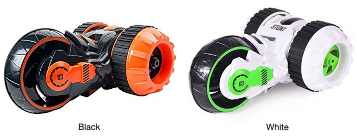 Three Rounds RC 360º Stunt Car