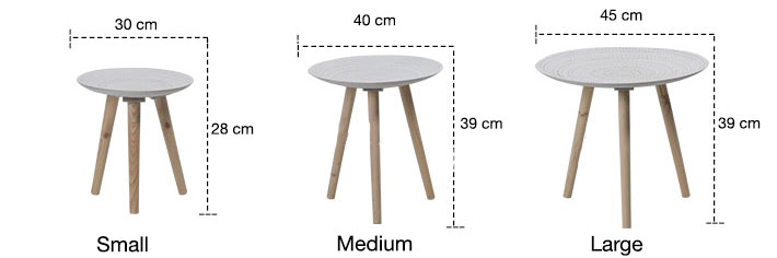 White Contemporary Tables