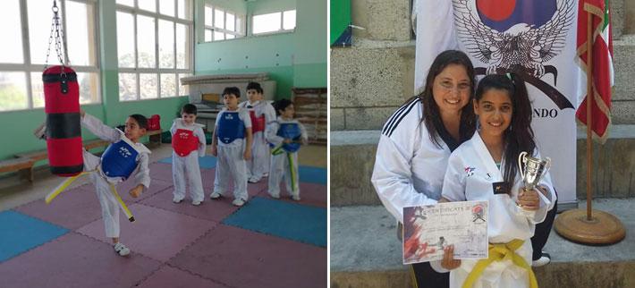 Taekwondo Champs by Master Sandra Chartouni