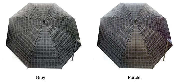 Large Squares Pattern Umbrella
