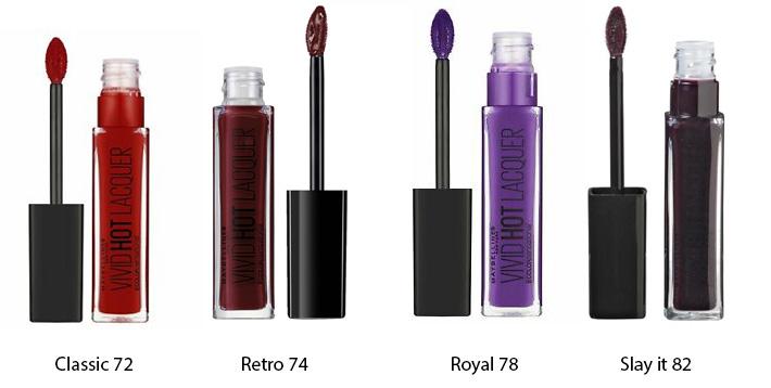 Maybelline Vivid Hot Lacquer Liquid Lipstick