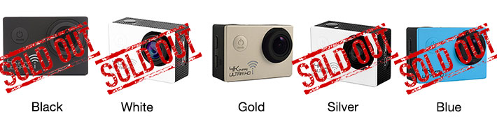 30M Waterproof Ultra HD Action Camera