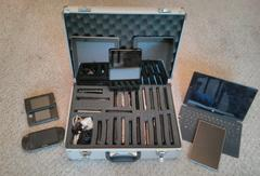 Device Lab in carrying case
