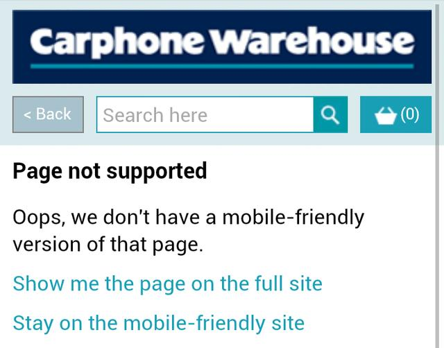WTF Mobile Web