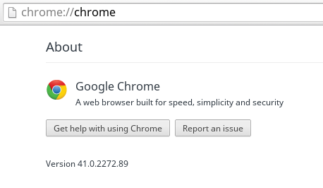 This is the Chrome version you are looking for