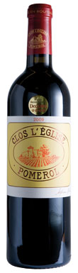 Clos L'Eglise, Pomerol, Bordeaux, France, 2015