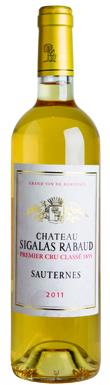 Château Sigalas Rabaud, Sauternes, 1er Cru Classé