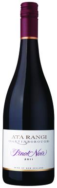 Ata Rangi, Pinot Noir, Martinborough, Wairarapa, 2011