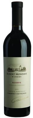 Robert Mondavi, Oakville, Reserve, To Kalon Vineyard, 2011