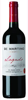 De Martino, Legado, Maipó Valley, Chile, 2012
