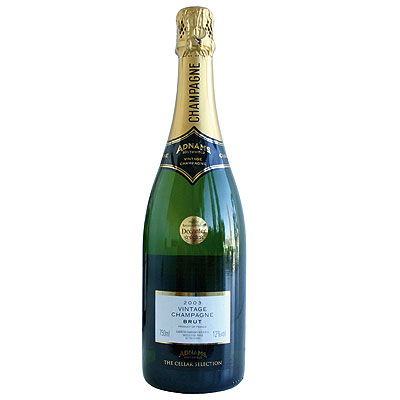 Adnams, The Cellar Selection, Champagne, France, 2003