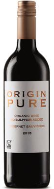 Aldi, Origin Pure No Sulphur Added Cabernet Sauvignon, 2015