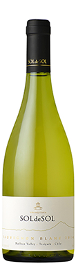 Aquitania, SOLdeSOL Sauvignon Blanc, Malleco Valley, 2014