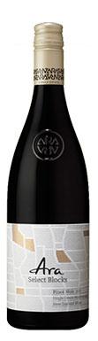 Ara Select Blocks, Pinot Noir, Marlborough, 2012
