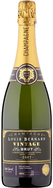 Asda, Extra Special Louis Bernard, Champagne, France, 2007