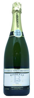 Bluebell Vineyard Estates, Blanc de Blancs, Hindleap, 2009