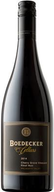 Boedecker Cellars, Willamette Valley, Cherry Grove Pinot