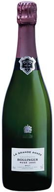 Bollinger, Grande Année Rosé, Champagne, France, 2005
