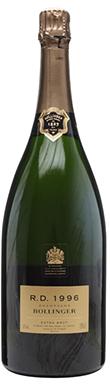 Bollinger, R.D., Champagne, France, 1996