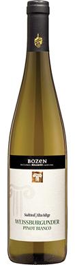 Bozen, Pinot Bianco, Alto Adige, Italy, 2016