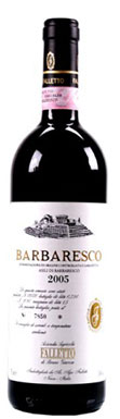 Bruno Giacosa, Barbaresco Asili, Piedmont, Italy, 2005