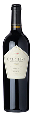 Cain Vineyard & Winery, Napa Valley, Five, California, 2013