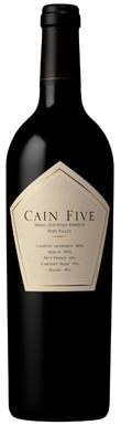 Cain, Napa Valley, Spring Mountain, Cain Five, 2013