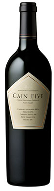 Cain Vineyard & Winery, Napa Valley, Five, California, 2014