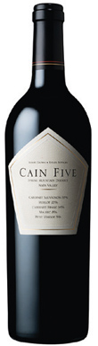 Cain Vineyard & Winery, Spring Mountain, Five, 2004