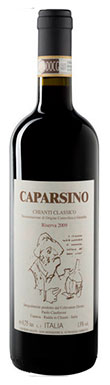 Caparsa Caparsino, Chianti, Riserva, Tuscany, Italy, 2011