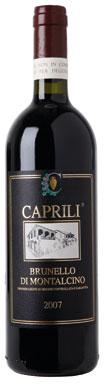Caprili, Brunello di Montalcino, Tuscany, Italy, 2007