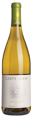 Carpe Diem, Anderson Valley, Chardonnay, California, 2014