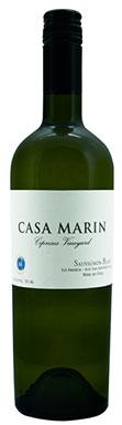 Casa Marín, Sauvignon Blanc, Cipreses Vineyard, 2011