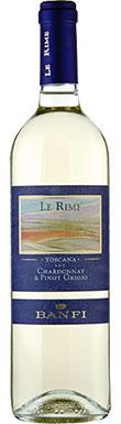 Castello Banfi, Le Rime Chardonnay Pinot Grigio, 2015